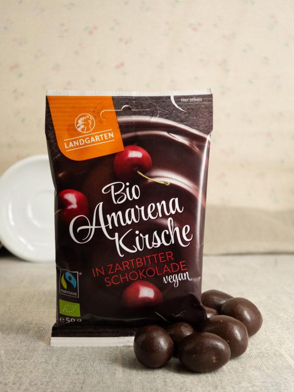 Boi Amarenakirsche in Zartbitter-Schokolade