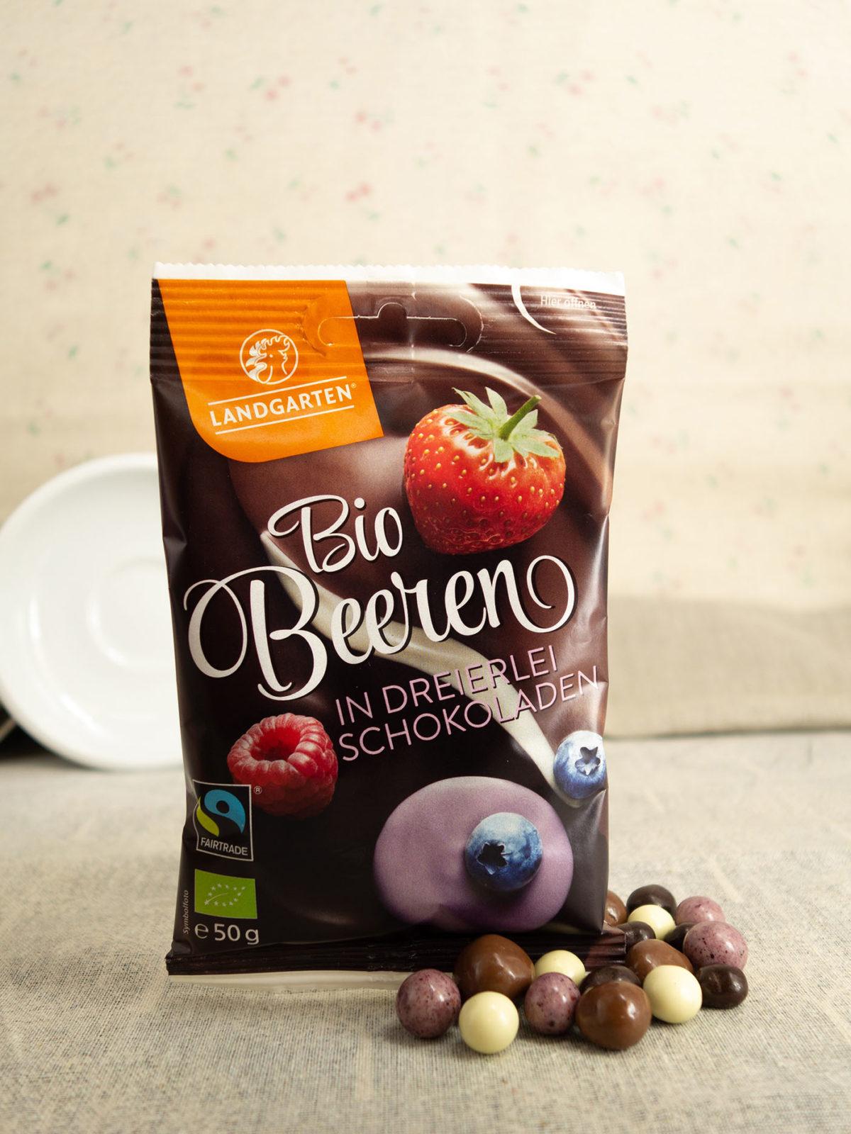 Boi Beeren in dreierlei Schokoladen