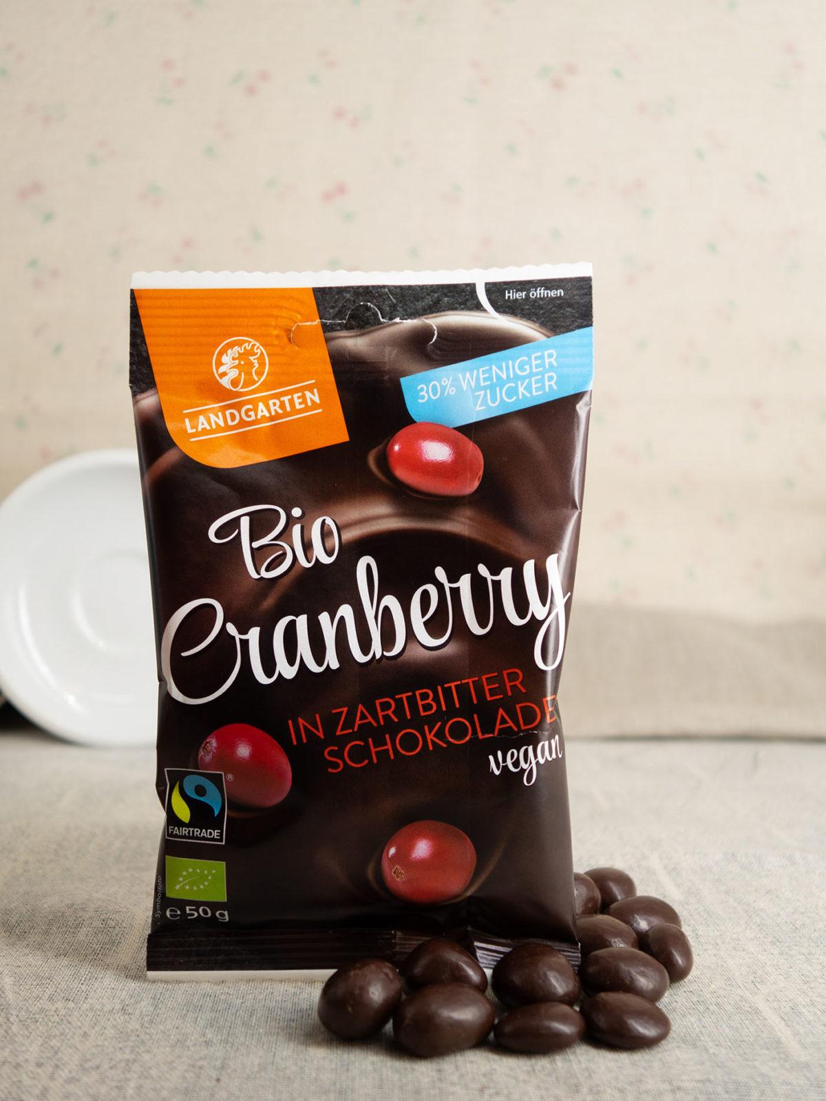Boi Cranberry in Zartbitter-Schokolade