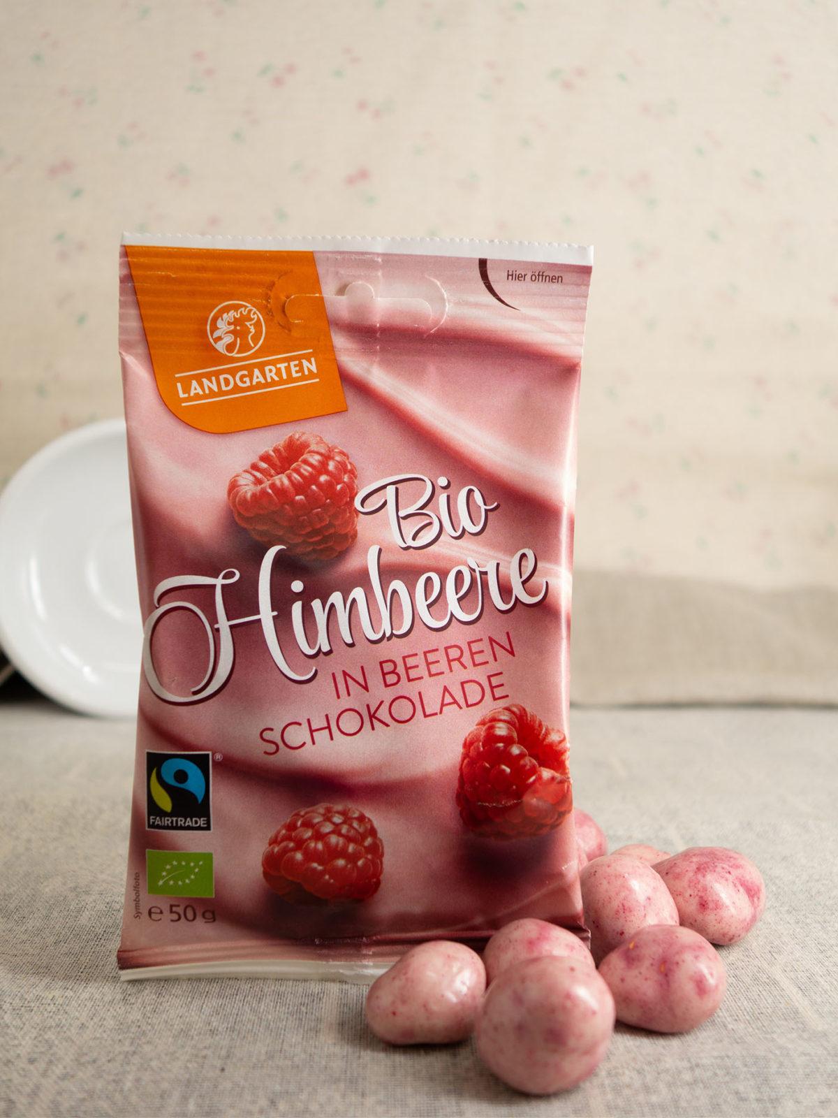 Bio Himbeere in Beeren-Schokolade