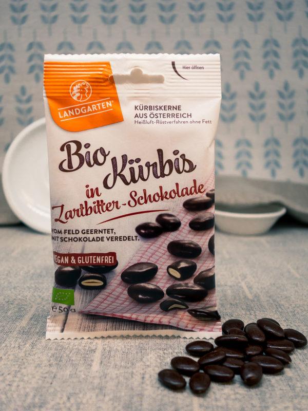 Bio Kürbis in Zartbitter-Schokolade