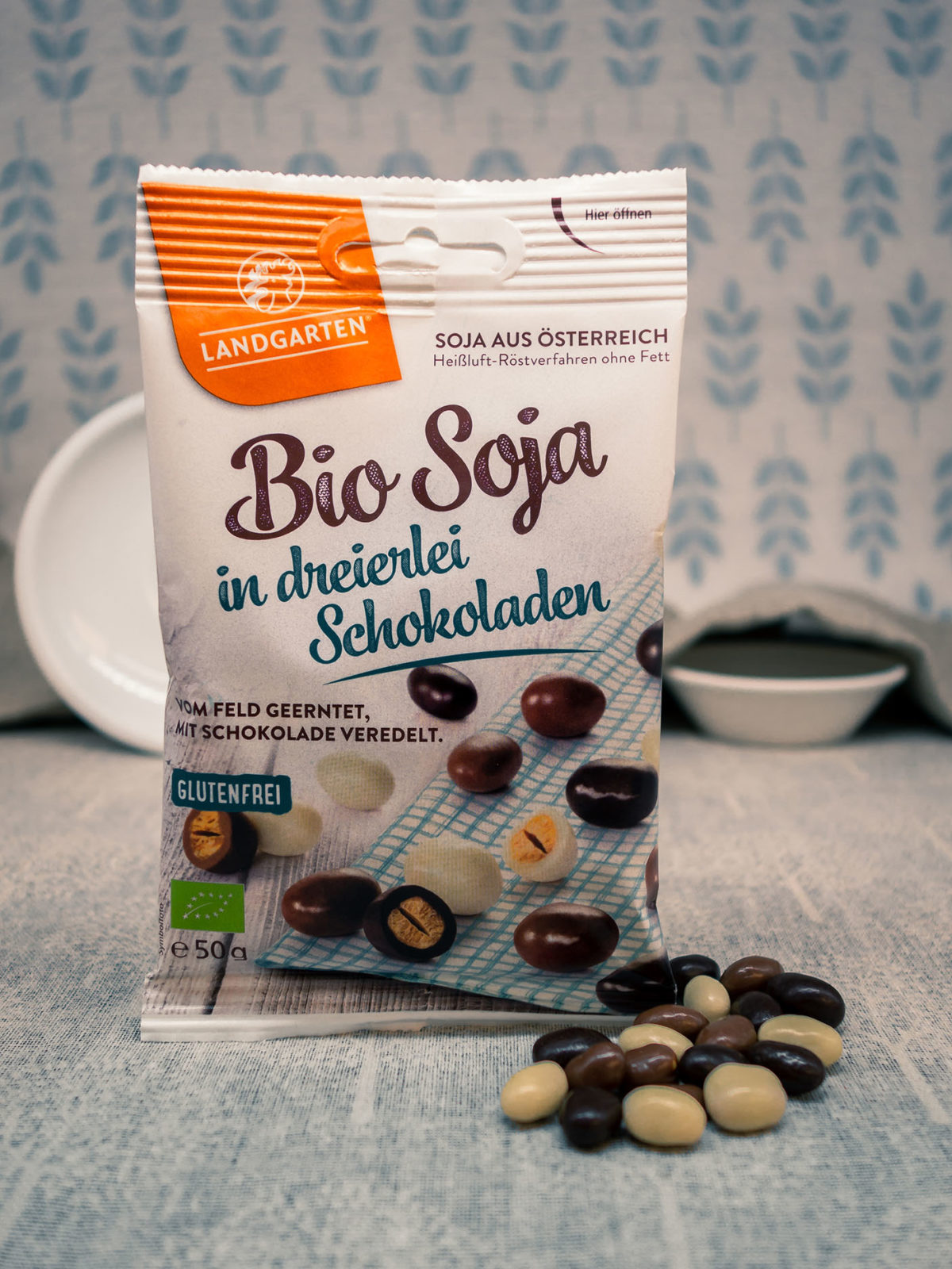 Bio Soja in dreierlei Schokoladen