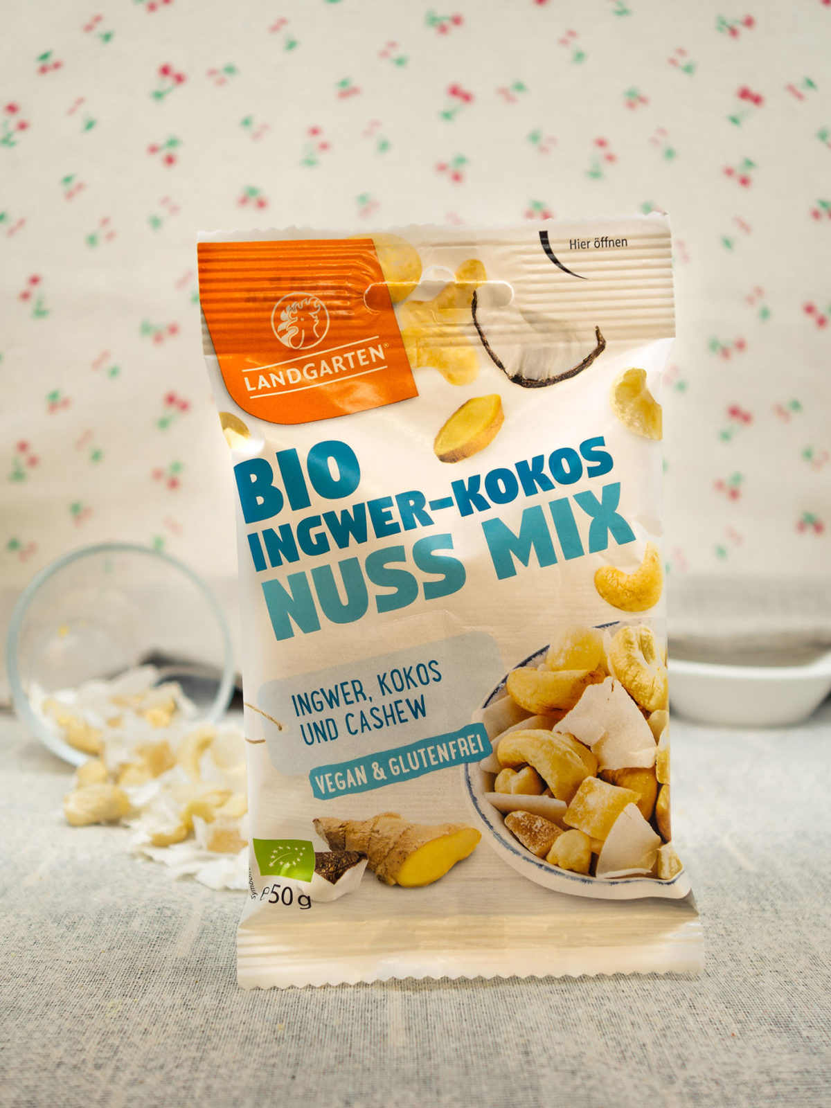 Bio Ingwer-Kokos-Nuss Mix